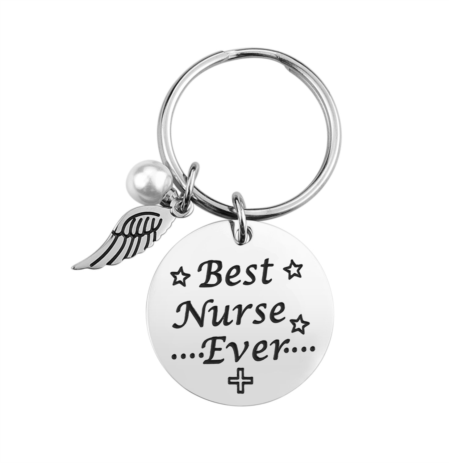 95e52281250 Get Quotations · Nurse Keychain Gifts for Women - Nursing Keychain Jewelry  Perfect Nurses Appreciation Gift for Birthday Graduation