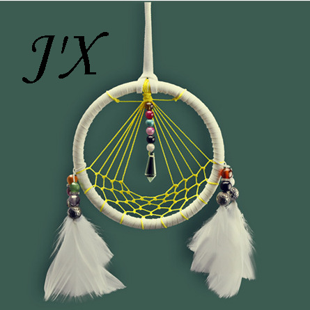 New Native American Indian Totem Dream Catchers Home Decor Original Design Dreamcatcher With Feathers Nets and Beads