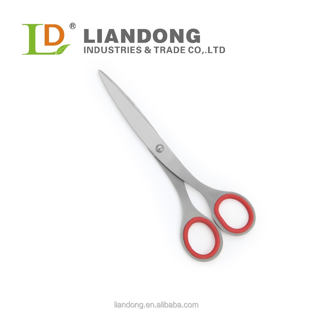HS023 SS+TPR handle household scissor