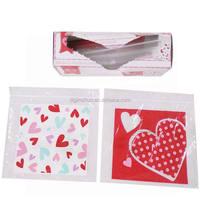 Clear plastic ziplock ldpe food grade packaging bags