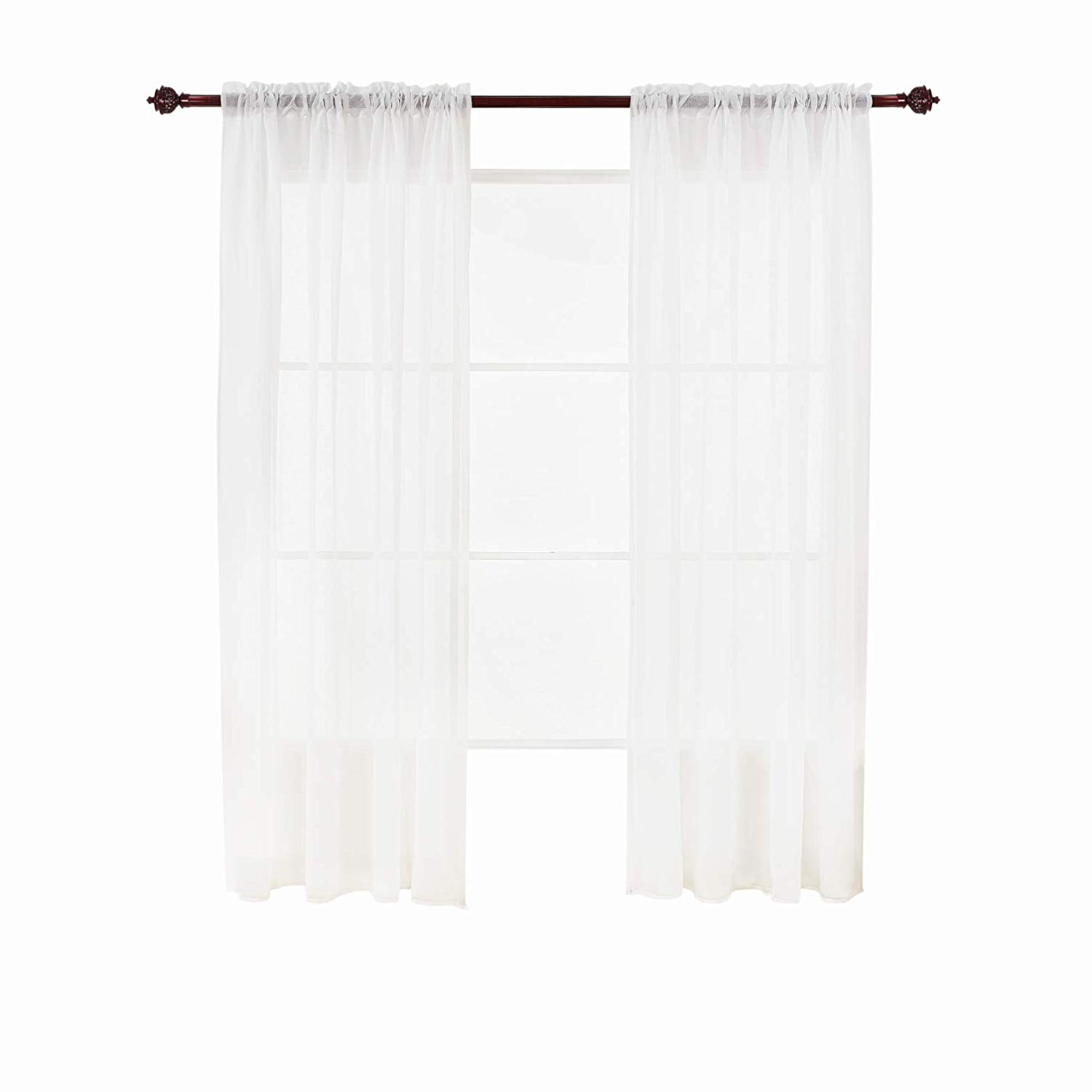 Cheap White Rod Pocket Curtains Find White Rod Pocket Curtains