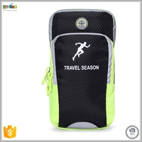 Justop Outdoor sport products,portable arm bag for small carry-on objects,mobile phone accessories