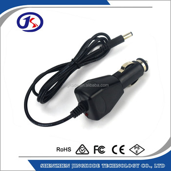 9.8V 1.3A car charger for PAX/POS with 3.5*1.35mm DC jack
