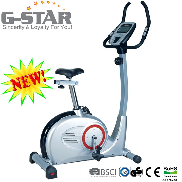 GS-8707-5 Popular Gym Products Deluxe Electric Magnetic Body Fit Resistance Bike