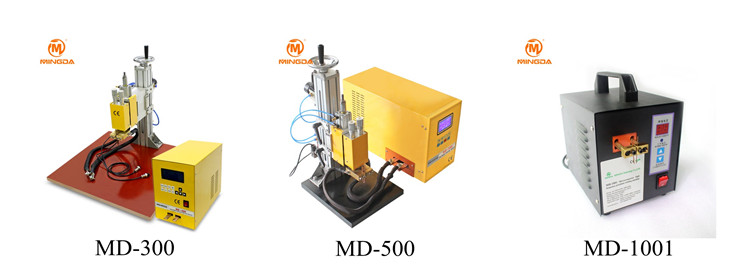 Dual pulse spot welder , MINGDA MD - 2005 large power spot welding machine for battery