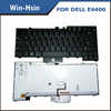 Laptop keyboard for dell e6400 laptop backlit keyboard