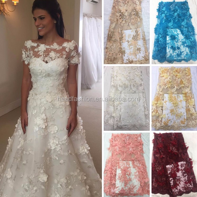 Queency 2017 Multi Colors Nigeria Wedding Dress Style African French ...