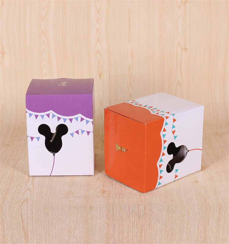 Factory custom recycled paper cupcake box