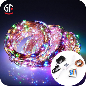 Hot Sales Wisdom Victory Copper Wire Fairy Light Remote Control Led String Lights