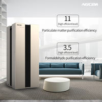 Professional active carbon filter uvc air purifier with great price
