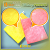 2016 Microfiber sponge for washing dishes for kitchen cleaning