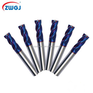 Hard metal cutting tools end milling cutters