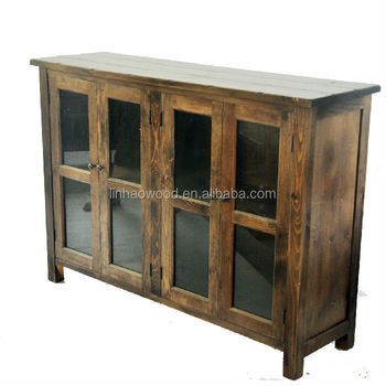Wood Material Living Room Furniture Type Wooden Buffet Cabinet ...