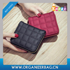 Encai Stylish Lady's Short Wallet PU Women's Purse Boutique Zipper Wallet
