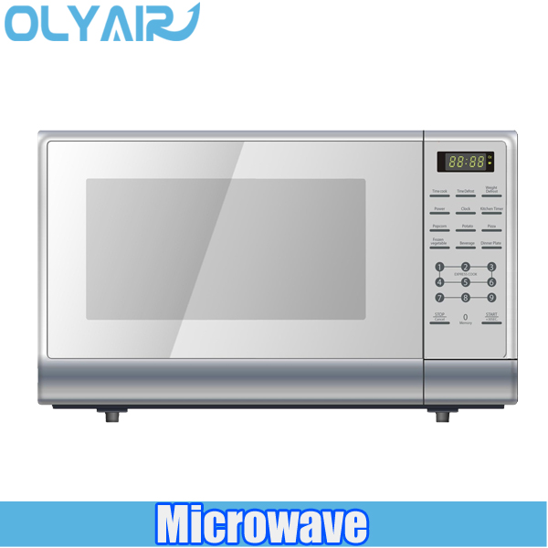 EM142 automatic door opening counter top Microwave oven