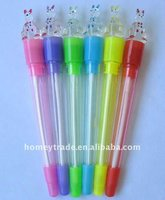 hot promotional led ball pen