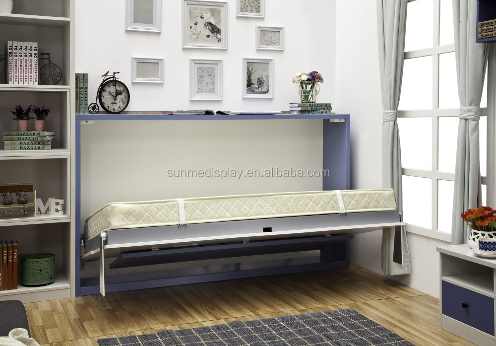 multifunctionele slaapkamer meubels lente mechanisme murphy fold