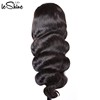 High-end With Factory Price Wholesale 100 Raw Virgin Peruvian 360 Lace Frontal Wig Silk Base Human Hair Body Long Lasting