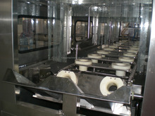 barreled washing filling capping machine