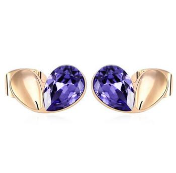 f04a5941f862d Hot 2018 14k 18k Gold Stud Earrings For Girls Rose Gold Earring Studs Heat  Shaped Platinum - Buy Rose Gold Earrings Studs,14k Gold Earrings,Heart Stud  ...