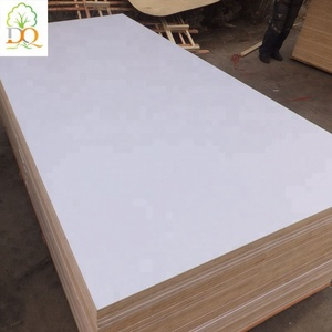Best real white 3mm 4x8 melamine paper particle board for furniture