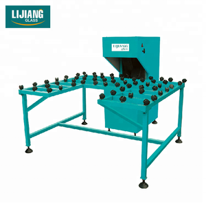 High efficient portable glass polishing edge glass grinding machine