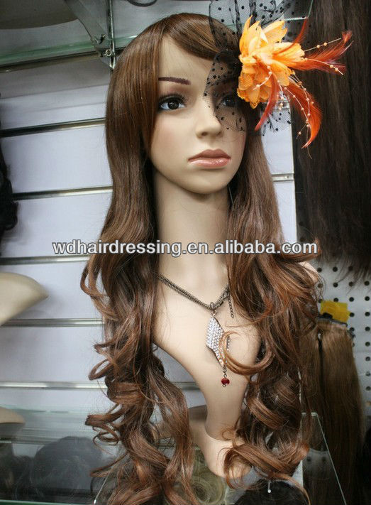 Top quality virgin human hair Full Lace wig Factory price ,straight hair,grey hair lace wig