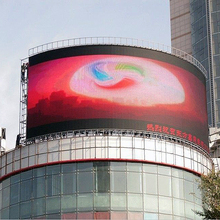 Tv stand led display trailer vms outdoor LED module