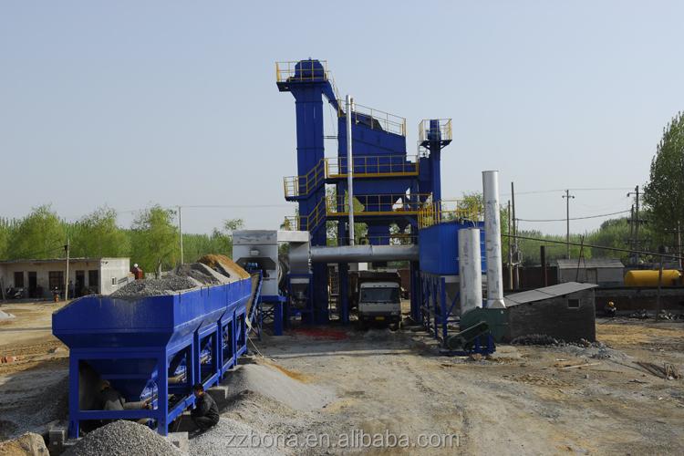 Mini Asphalt Plant : Flexible pavement mini stationary hot cold mix asphalt