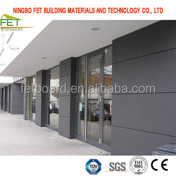 8mm fiber cement partition sheet for exterior walls