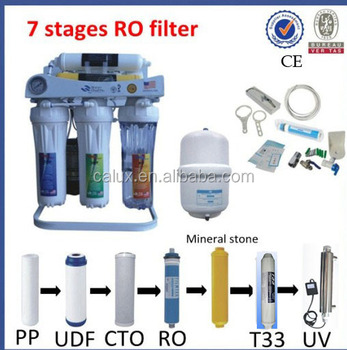 Uv Ro Water Filter Uv Water Sterilizer Ro System 6 Stage
