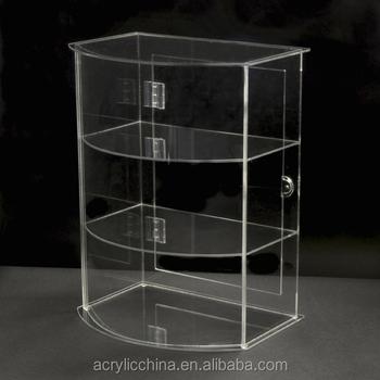 Large Acrylic Lockable Display Cabinet