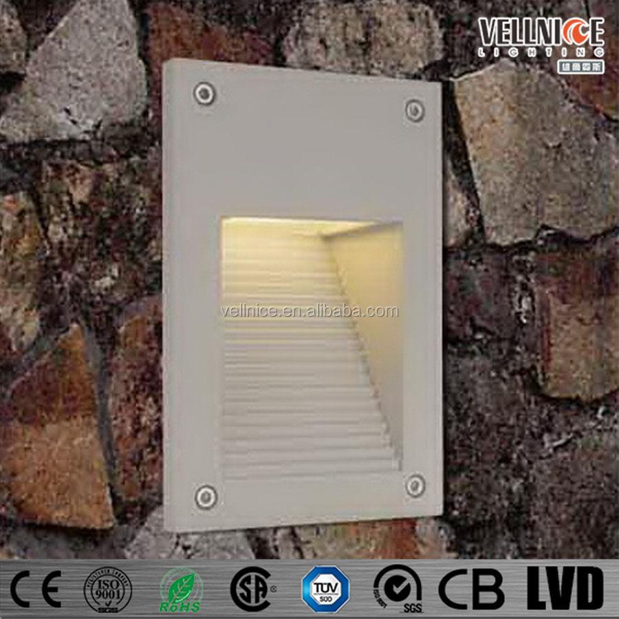 Led Outdoor Step Light For Recessed Wall Lighting 3watt