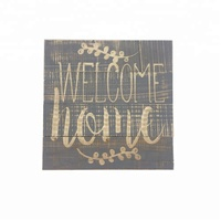 Hot Sale Wooden Decorative Home Wall Hanging Carved Plaque