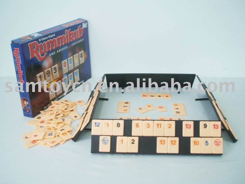 Rummikub toy/ Learning cards toy