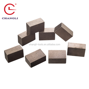 Segmento De Diamante for Granite Marble Sandstone Basalt Stone Cutting Tools of Segment