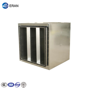 galvanized steel air duct sound attenuator for HVAC system