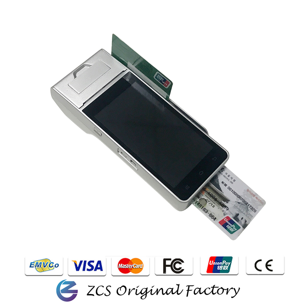 SZZCS Exclusive Factory 4G <strong>Payment</strong> Android 5.1 All - in - one Touch Screen Handheld POS Terminal Z90