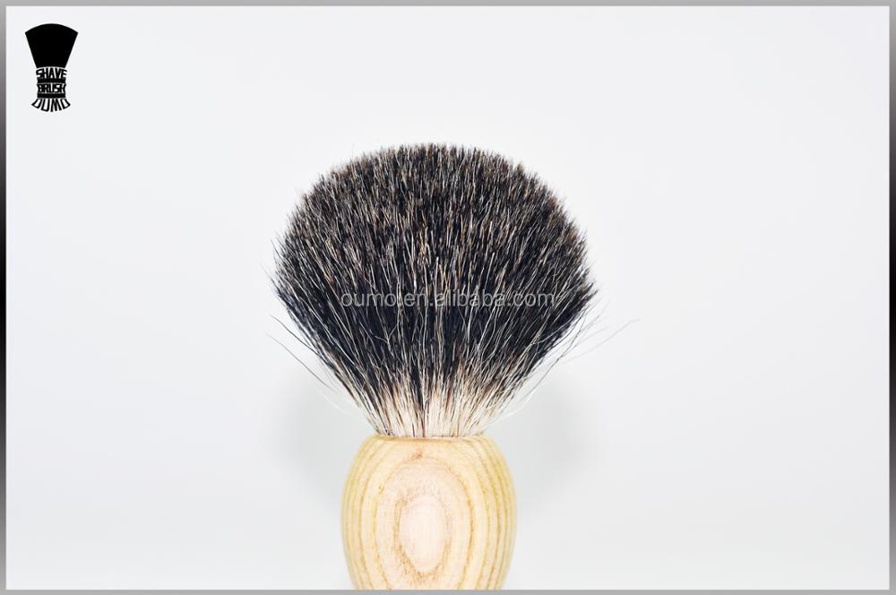 High quality shaving brush with wood handles