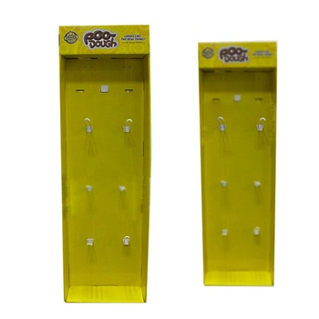 Shenzhen China Manufacturer Retail Walmart Hanging Sidekick Display With Peg Hooks For False Hair Extension Products