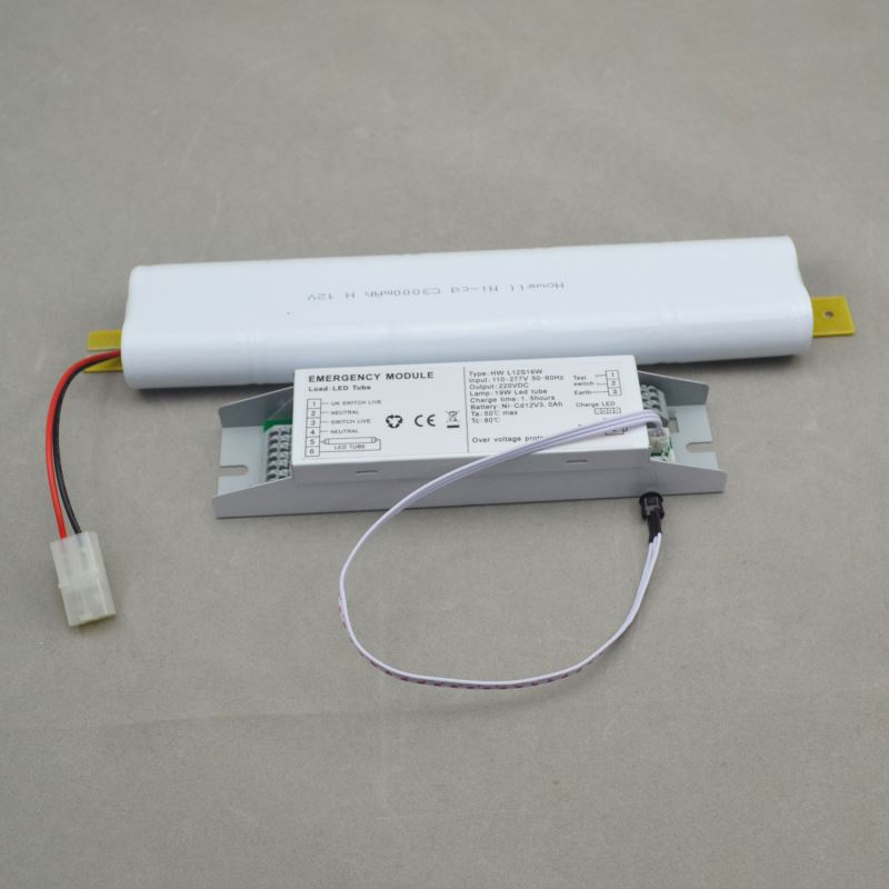 19W CE UL LED emergency battery pack