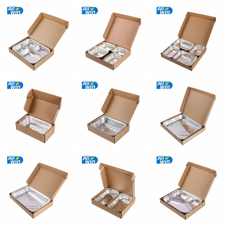 Rectangular carton corrugated shipping food box