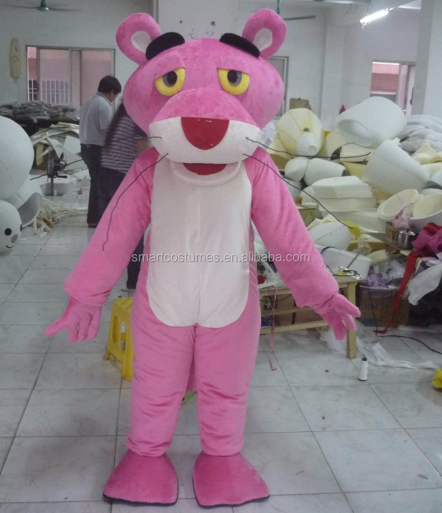 adult pink panther mascot costume the pink panther costume