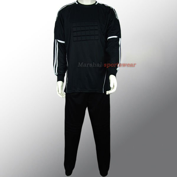High quality soccer goalie jersey soccer goalkeeper jersey wholesale with long pants