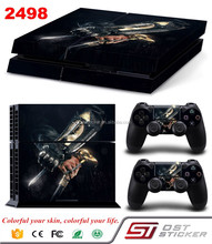 Vinyl Sticker For Sony Playstation 4 Console 2 controller Sticker For PS4 Skin Decal