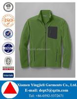 Factory High Quality Custom Men Micro Polar Fleece Jacket Full Zip Fleece Jacket