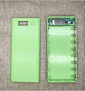 Multi-color 818650 Lithium-ion BatteryPower Bank Shell Portable LCDExternalWithout Battery power bank;battery pack;external battery charger;portable battery charger;battery bank case