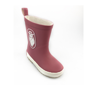 New style baby rubber rain boots with customer printing