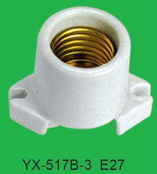 E27 Screw Type Porcelain Lamp Holder Yx-517