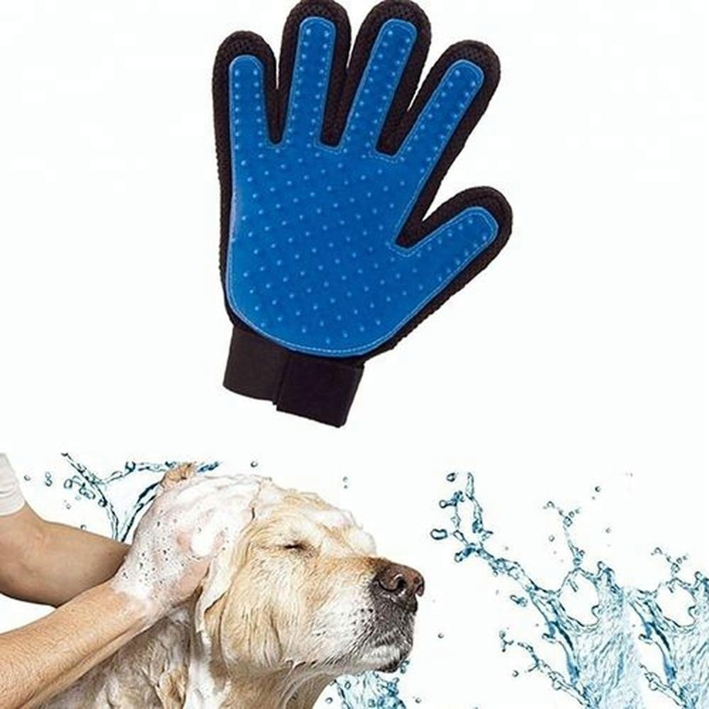 dog cat Five Finger Design Hair Remover Pet Grooming Glove